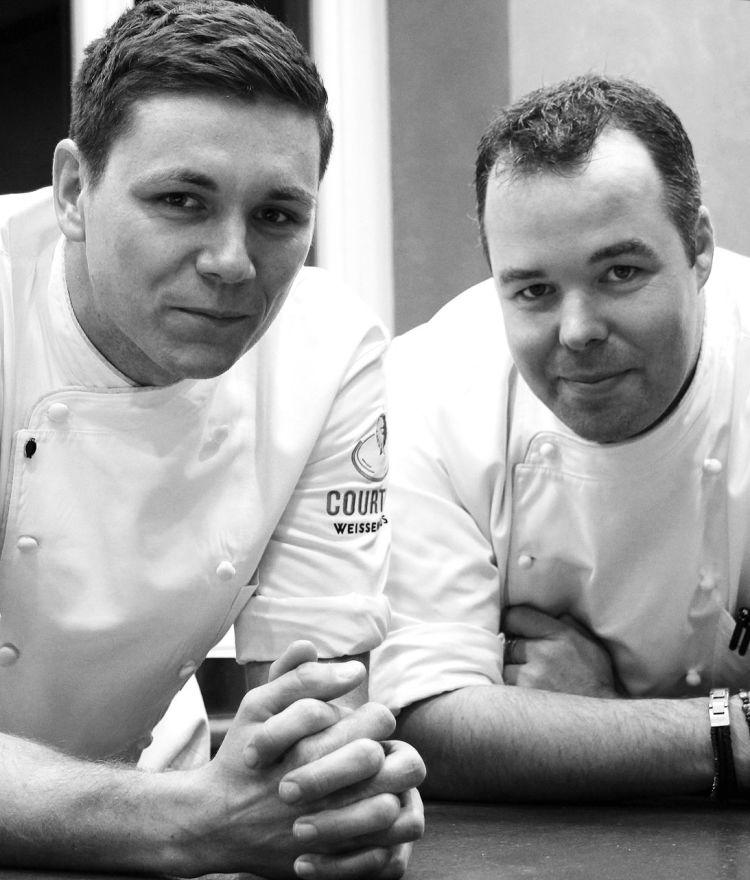 Alexander Dehn und Hannes Graurock