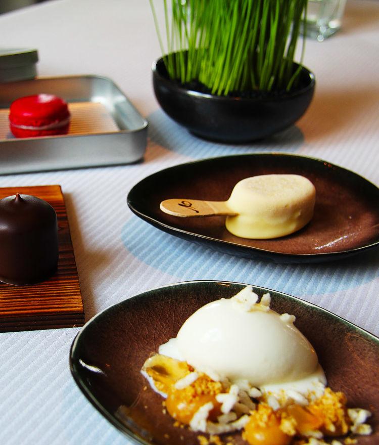 Süsser Abschluss: Parfait / Magnum / Macaron / Schaumkuss / Gelee