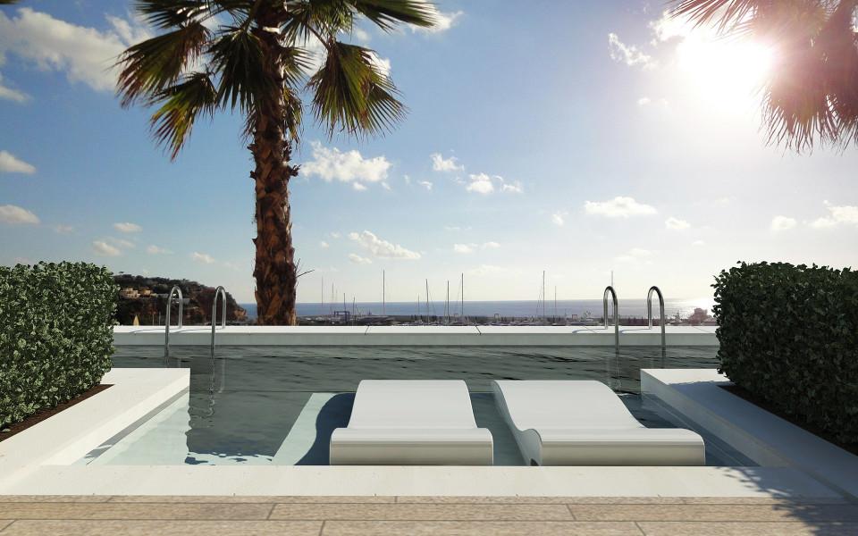 Neues Luxus- hotelkonzept